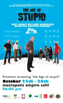 Age of Stupid movie Poster